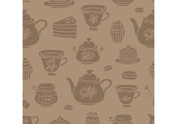 Free High Tea Vectors - Kostenloses vector #157187