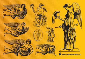 Free Angels - Kostenloses vector #157347