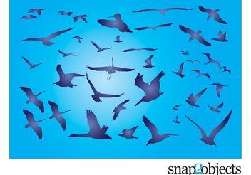 Free Birds - Free vector #157377