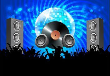 Vector Disco Party - Free vector #158167