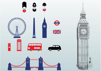 London Vectors - vector gratuit #158617