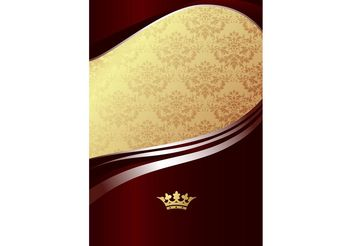 Royal Poster Template Design - vector gratuit(e) #158707