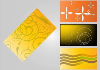 Business Card Templates - Kostenloses vector #158947