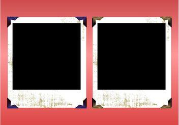 Grunge Polaroids - Kostenloses vector #159077