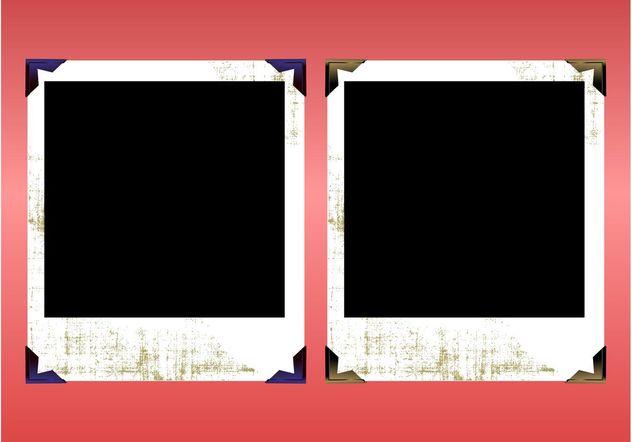 Grunge Polaroids - vector #159077 gratis