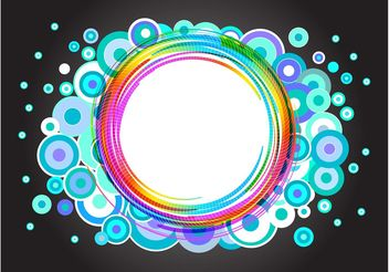 Colorful Label - vector gratuit #159297