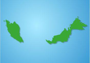 Malaysia Vector Map - Free vector #159647