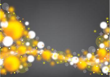 Golden Spheres Backdrop - Free vector #159787