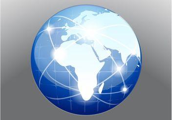 Globe Vector - vector #159847 gratis