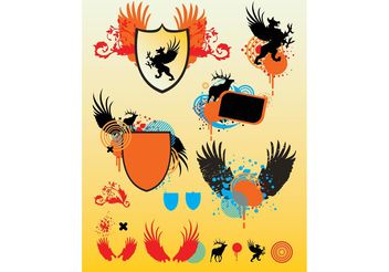 Shield Vector Graphics - Kostenloses vector #160137