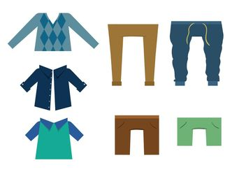 Free Vector Clothes - бесплатный vector #160747