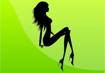 Sexy Girl Image - Free vector #160757