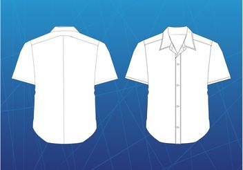 Shirt Vector - Free vector #160847