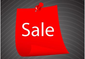 Sale Label - Free vector #160967