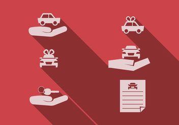 Car Dealership Vector Set - Free vector #161257
