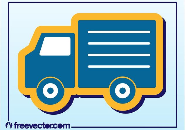 Truck Icon - Free vector #161297