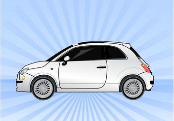 Fiat Car Vector - vector gratuit #161317