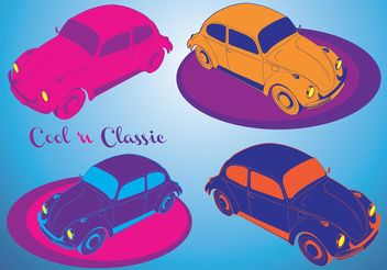 Cool Cars - vector gratuit #161377