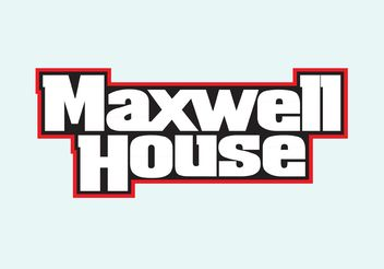 Maxwell House - Free vector #161407