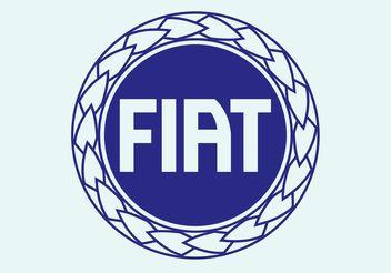 Fiat Disc Logo - бесплатный vector #161547