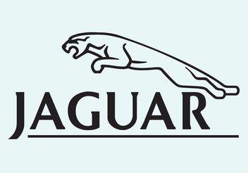 Jaguar Vector Logo - бесплатный vector #161557