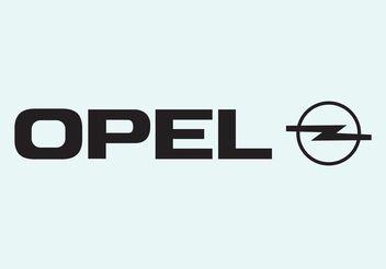 Opel - vector #161597 gratis