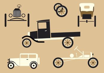 Cars of the 20's - Free vector #161797