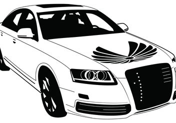 Audi Car Vector - Free vector #161837