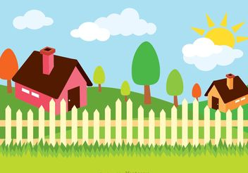House Illustration Vector - Kostenloses vector #161867