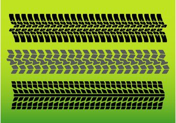 Tire Tracks - Free vector #161937