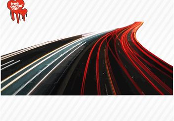 Busy Highway - vector #161947 gratis