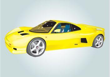 Ascari Car Illustration - Free vector #161957