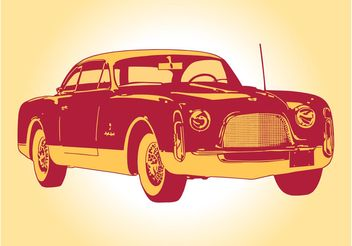 Vintage Car Graphics - vector gratuit #161977