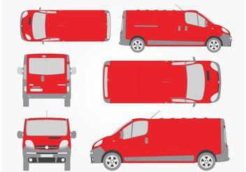 Opel Vivaro - vector #162077 gratis