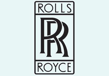 Rolls Royce Vector Logo - vector #162097 gratis