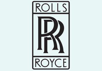 Rolls Royce Vector Logo - Free vector #162097