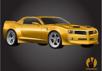 Pontiac Firebird - Kostenloses vector #162137