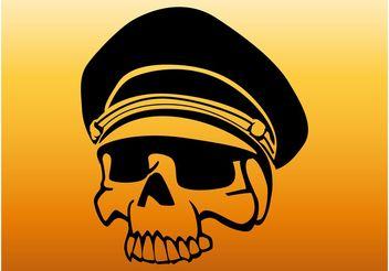 Military Skull - Free vector #162357
