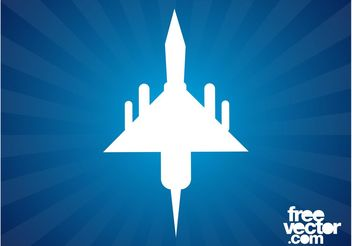 Military Plane Graphics - Free vector #162407
