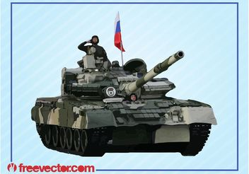 Tank And Soldiers - vector #162467 gratis