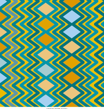 Rhombus zig zag pattern - Free vector #162697