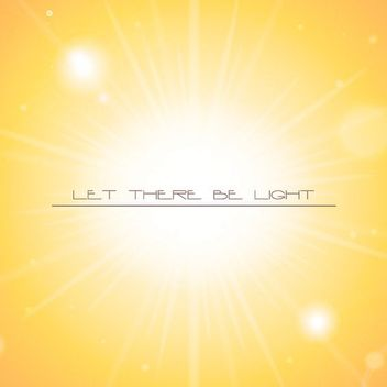 Bright Orange Sunlight Background - Free vector #162917