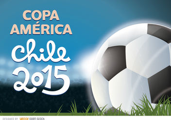 Copa America 2015 football stadium - Free vector #163447