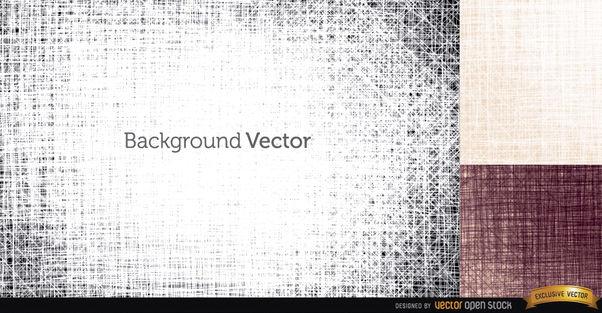3 Tissue textures backgrounds - vector #163817 gratis