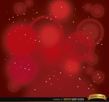 Red spotlights stars background - Free vector #163997