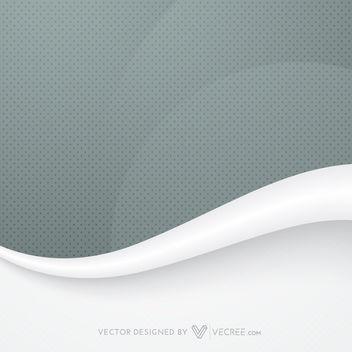 Dark Dotted Pattern & Grey Wave Background - Free vector #164097