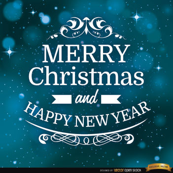 Christmas message space background - Free vector #165017