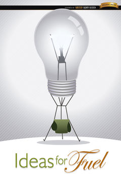 Light bulb ideas creativity - Free vector #165747