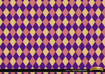 Rhombus colorful pattern background - vector #165997 gratis
