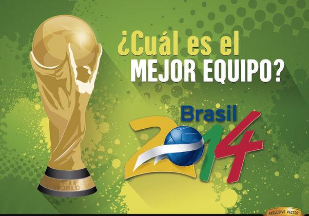 Copa Mundial Brasil 2014 Mejor equipo - Free vector #166787